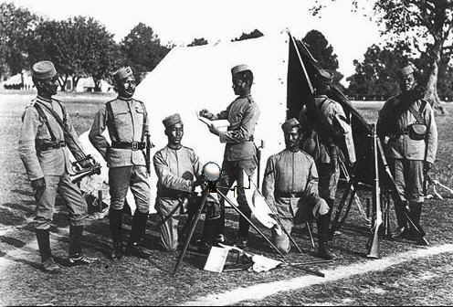 Gurkhas signalmen in 1896.